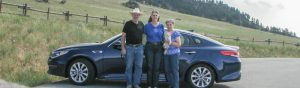 Here we are on Hwy 16 west of Buffalo, WY heading to Powder River